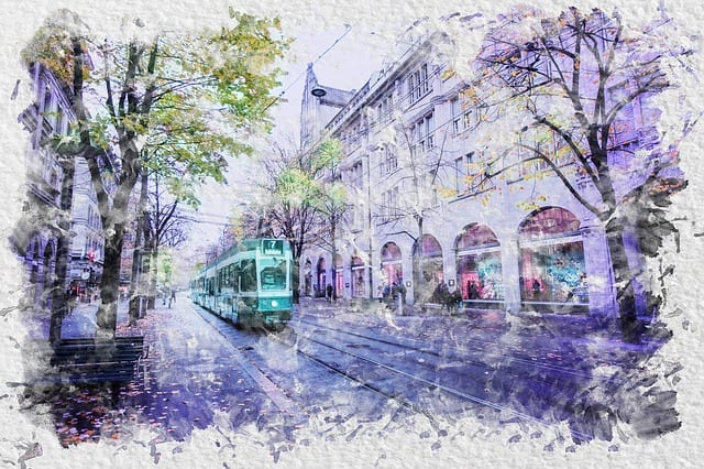 8 water color cityscape paintings you should know about