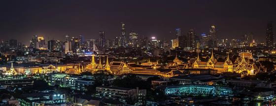 10 cityscape photographs taken at night